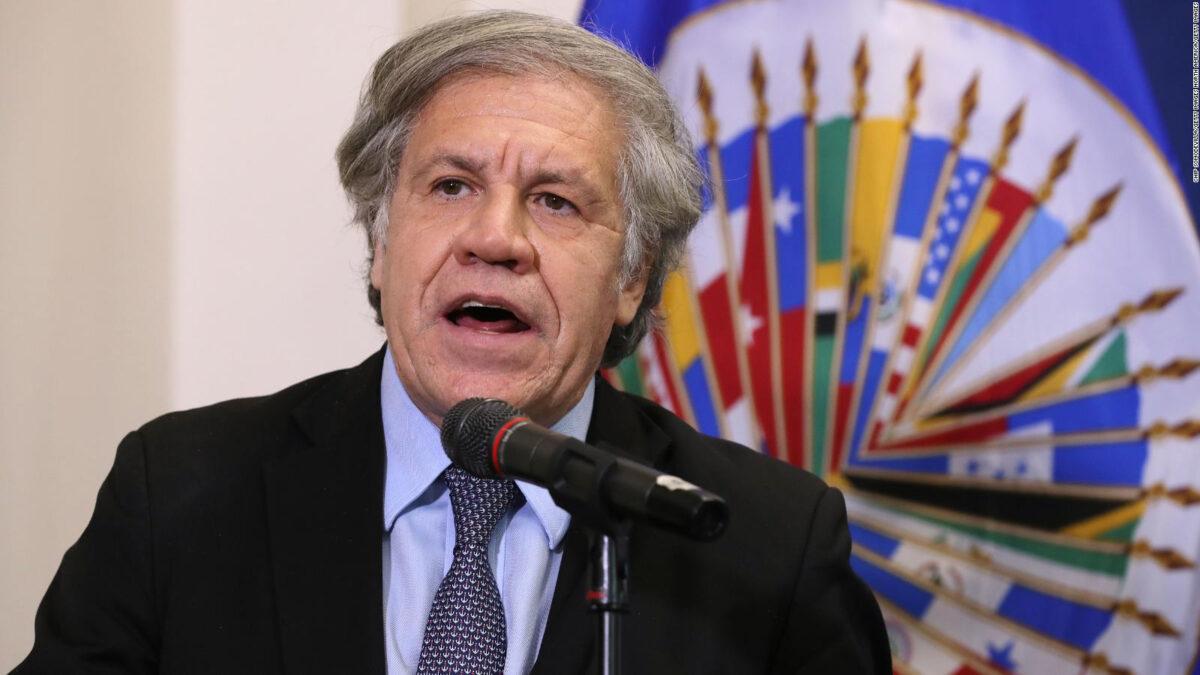 """Luis Almagro: """"Necesitamos una acción fuerte de la comunidad internacional"""""""