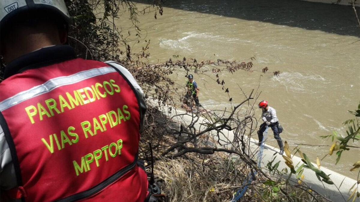 En Caracas: Encuentran cadáver de una mujer en el río Guaire